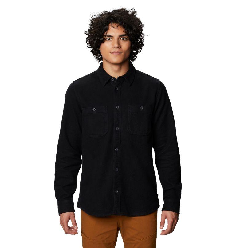 Plusher™ Long Sleeve Shirt | 010 | L Men's Plusher™ Long Sleeve Shirt, Black, front