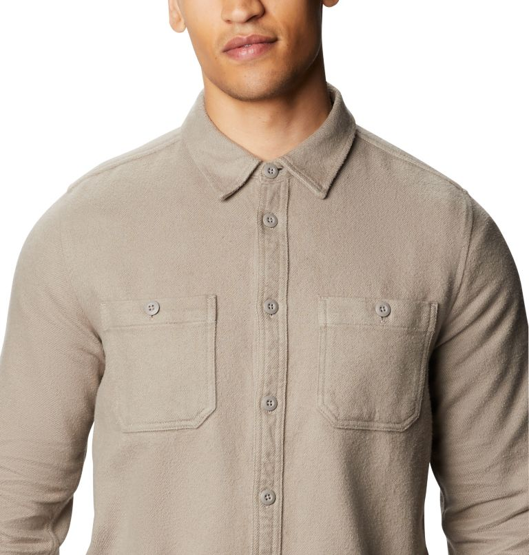 Plusher™ Long Sleeve Shirt | 262 | XL Men's Plusher™ Long Sleeve Shirt, Dunes, a2