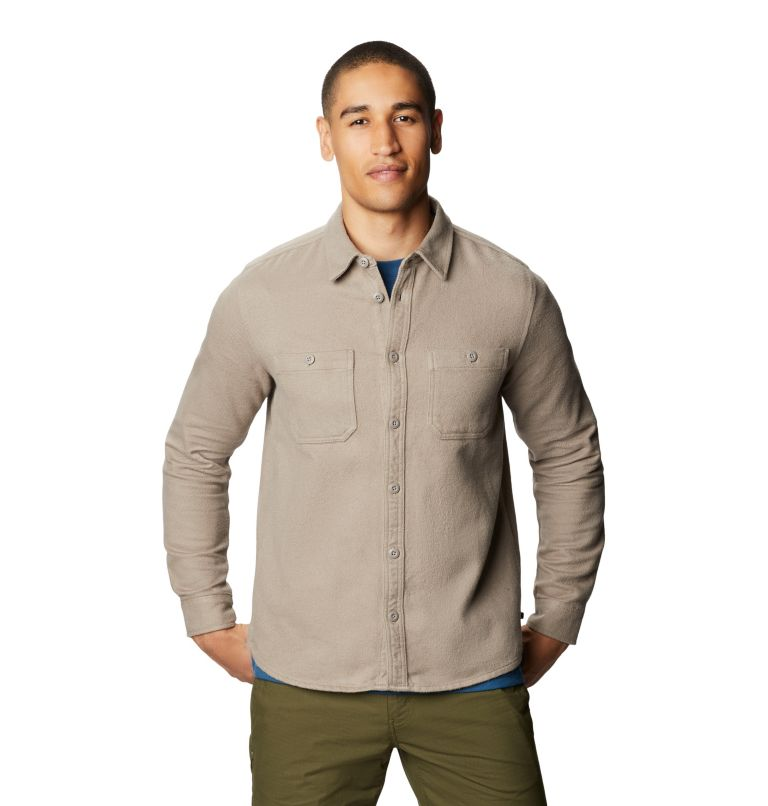 Plusher™ Long Sleeve Shirt | 262 | XL Men's Plusher™ Long Sleeve Shirt, Dunes, front