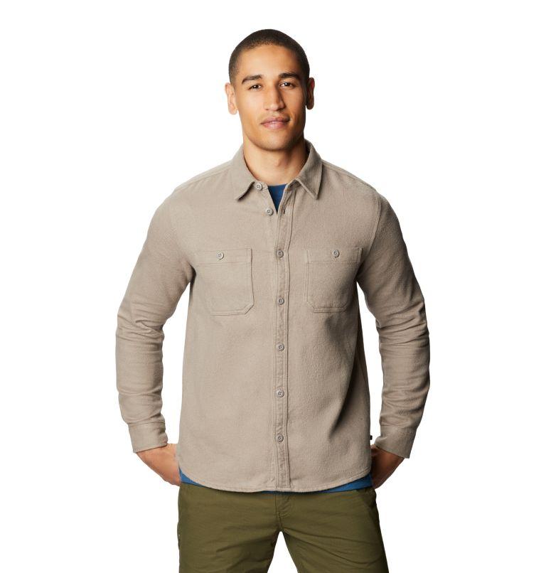 Plusher™ Long Sleeve Shirt | 262 | S Men's Plusher™ Long Sleeve Shirt, Dunes, front