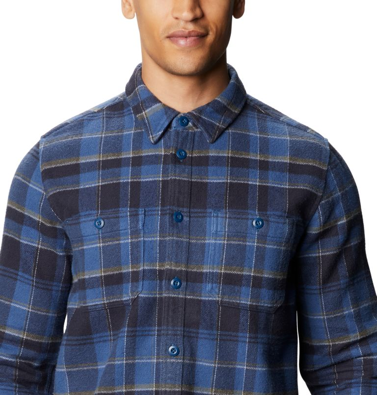 Plusher™ Long Sleeve Shirt | 402 | S Men's Plusher™ Long Sleeve Shirt, Blue Horizon, a2