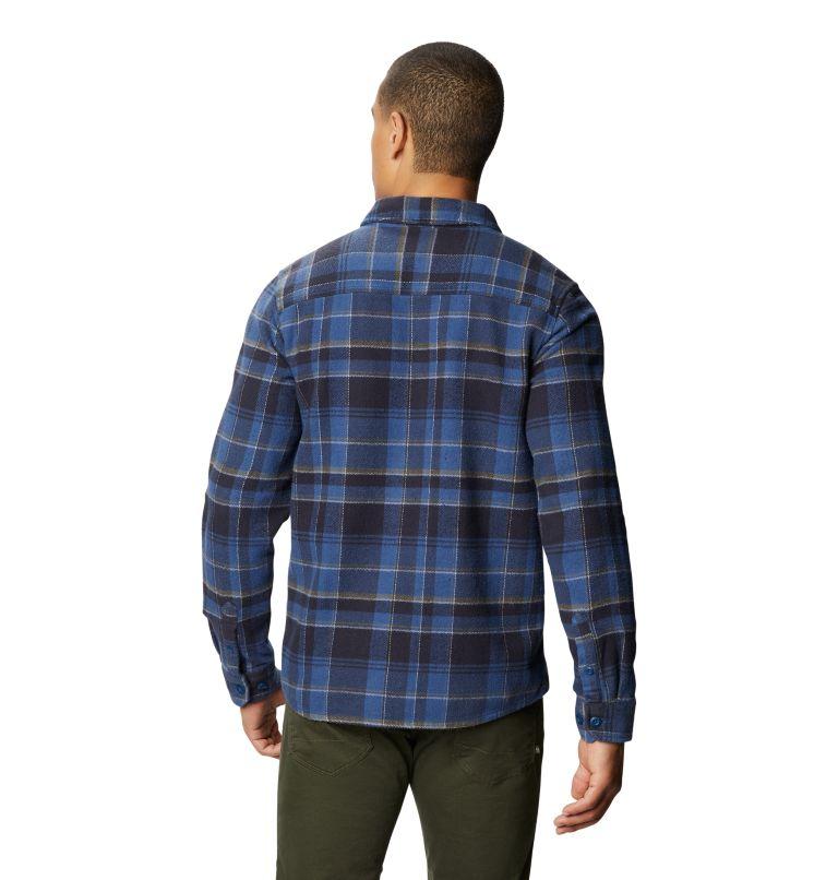 Plusher™ Long Sleeve Shirt | 402 | M Men's Plusher™ Long Sleeve Shirt, Blue Horizon, back