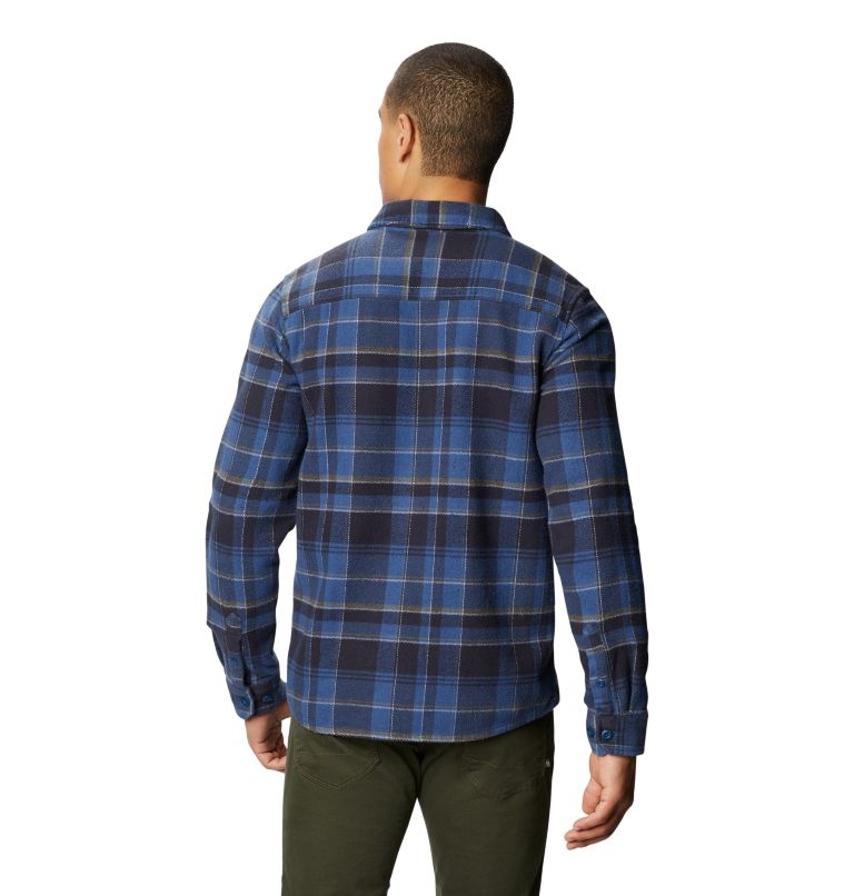 Plusher™ Long Sleeve Shirt | 402 | S Men's Plusher™ Long Sleeve Shirt, Blue Horizon, back