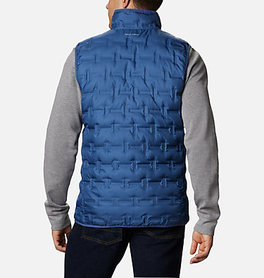 Men's Delta Ridge™ Down Vest Delta Ridge™ Down Vest | 464 | XXL, Night Tide, back