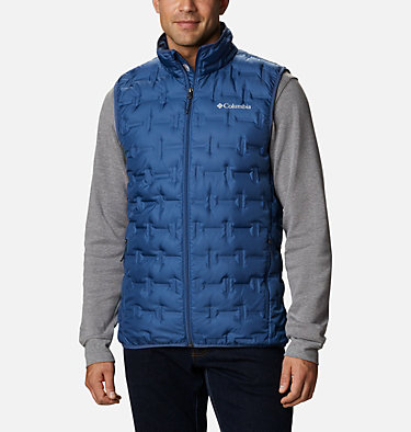 Men's Delta Ridge™ Down Vest Delta Ridge™ Down Vest | 464 | XXL, Night Tide, front