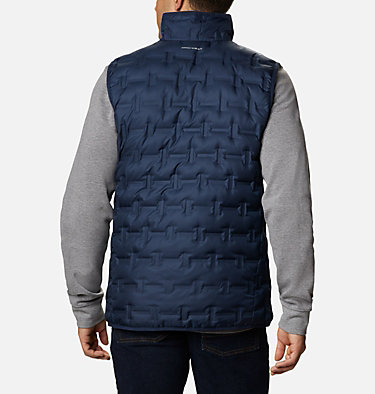 Men's Delta Ridge™ Down Vest Delta Ridge™ Down Vest | 464 | XXL, Collegiate Navy, back