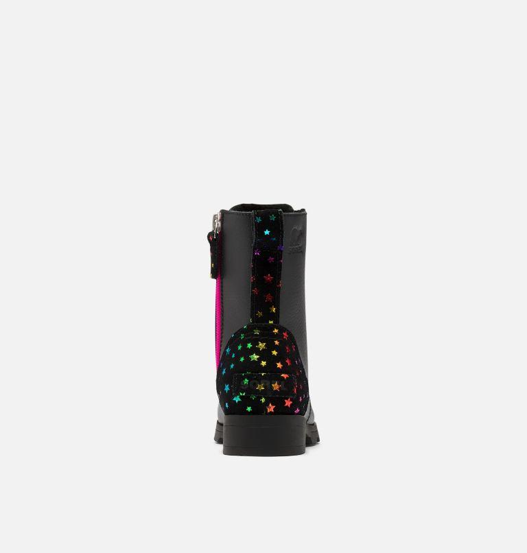 YOUTH EMELIE™ SHORT LACE   010   3 Youth Emelie™ Short Lace Boot, Black, back