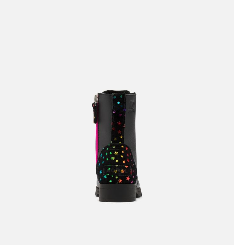 Youth Emelie™ Short Lace Boot Youth Emelie™ Short Lace Boot, back