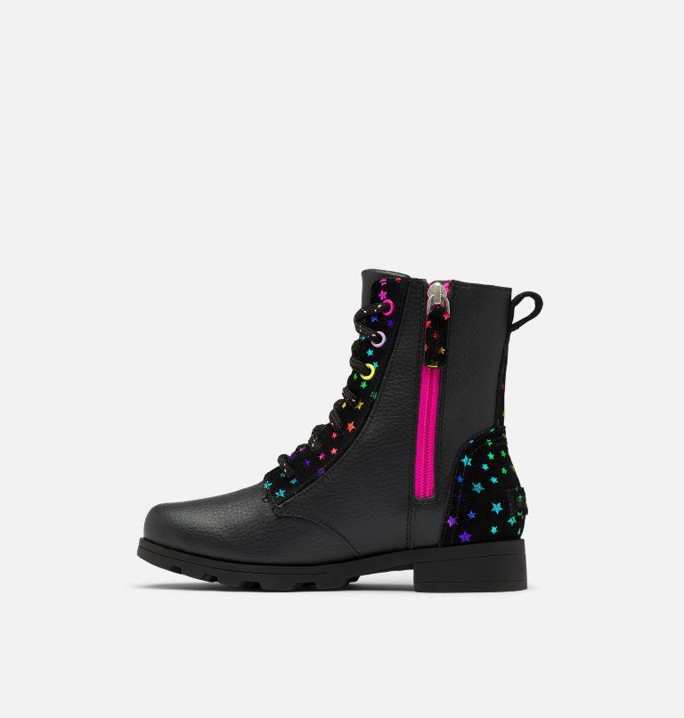 YOUTH EMELIE™ SHORT LACE   010   3 Youth Emelie™ Short Lace Boot, Black, medial