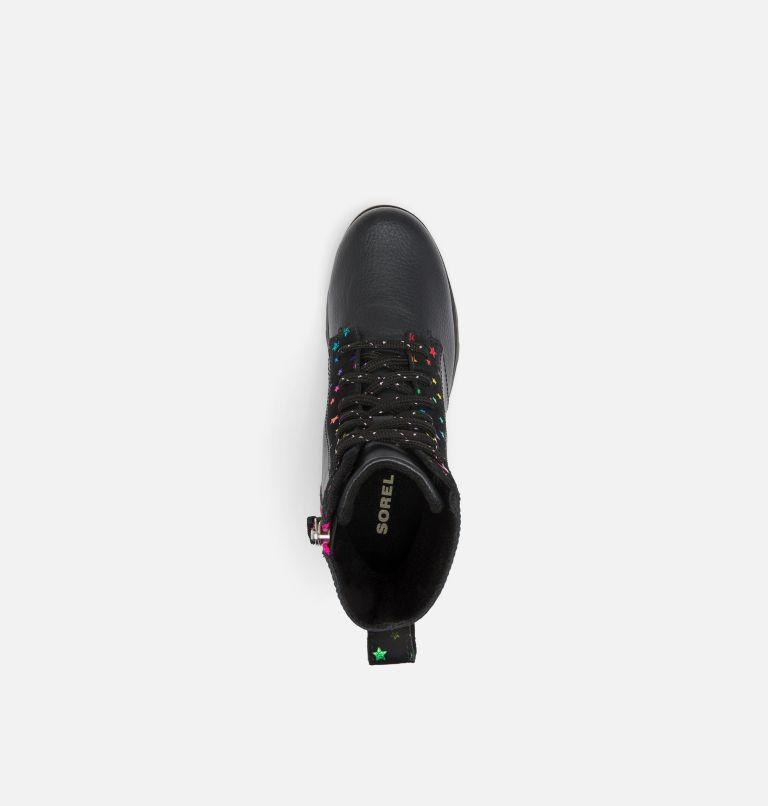 YOUTH EMELIE™ SHORT LACE   010   3 Youth Emelie™ Short Lace Boot, Black, top