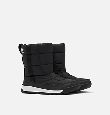 Youth Whitney™ II Puffy Mid Boot YOUTH WHITNEY™ II PUFFY MID | 052 | 1, Black, 3/4 front