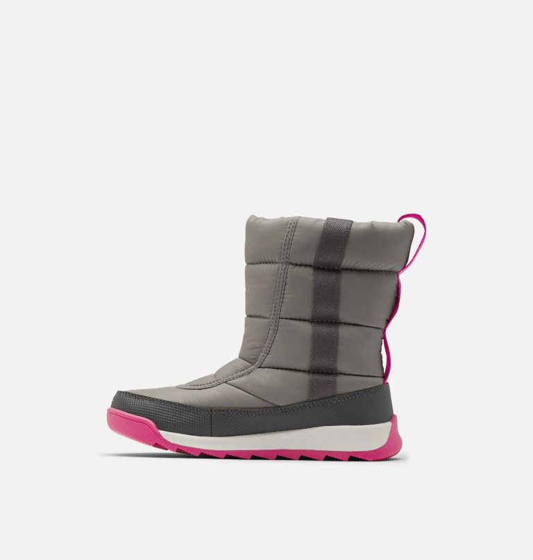 YOUTH WHITNEY™ II PUFFY MID | 052 | 6 Youth Whitney™ II Puffy Mid Boot, Quarry, medial