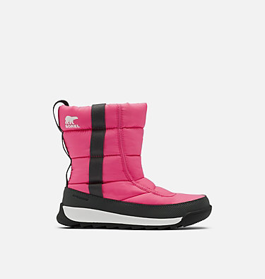 Childrens Whitney™ II Puffy Mid Boot CHILDRENS WHITNEY™ II PUFFY MID | 652 | 10, Tropic Pink, front