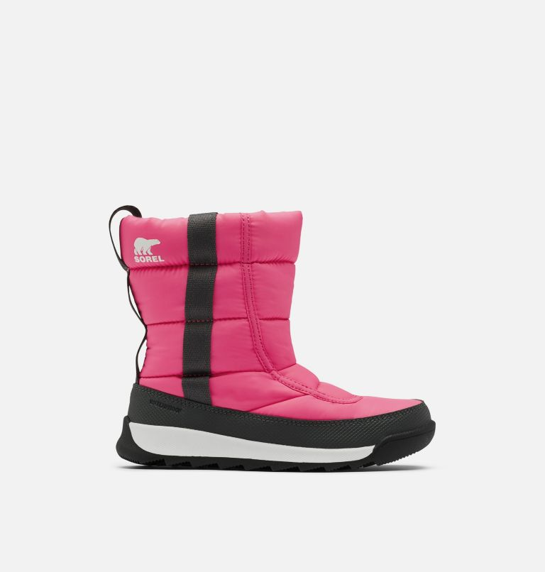 CHILDRENS WHITNEY™ II PUFFY MID | 652 | 10 Botte mi-mollet au confort duveté Whitney™ II pour enfants, Tropic Pink, front