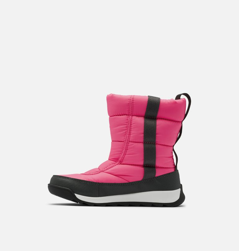 CHILDRENS WHITNEY™ II PUFFY MID | 652 | 10 Botte mi-mollet au confort duveté Whitney™ II pour enfants, Tropic Pink, medial