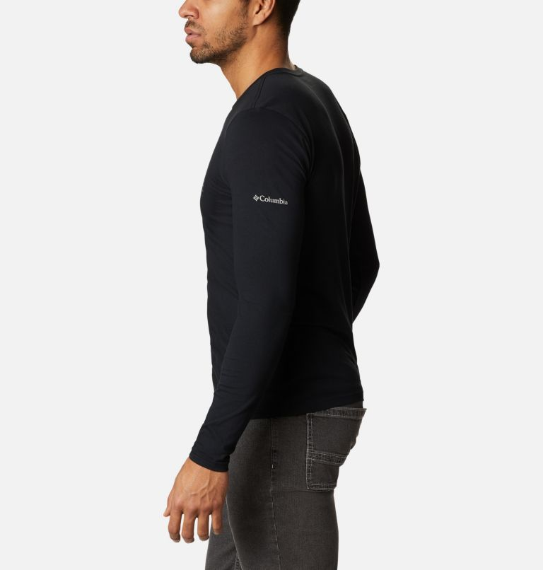 Lookout Point™ LS Graphic Tee | 010 | S Men's Lookout Point™ Long Sleeve Graphic T-Shirt, Black Omni Dots, a1