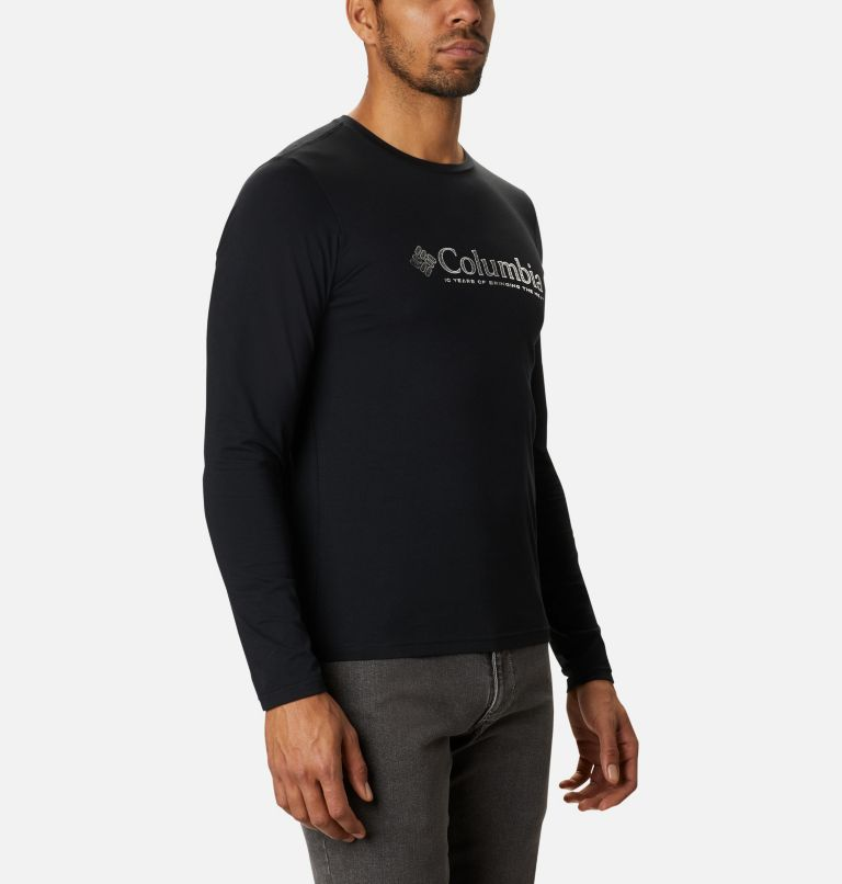Lookout Point™ LS Graphic Tee | 010 | L Men's Lookout Point™ Long Sleeve Graphic T-Shirt, Black Omni Dots, a3