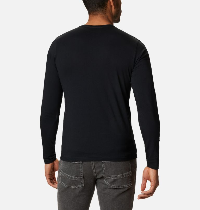Lookout Point™ LS Graphic Tee | 010 | L Men's Lookout Point™ Long Sleeve Graphic T-Shirt, Black Omni Dots, back