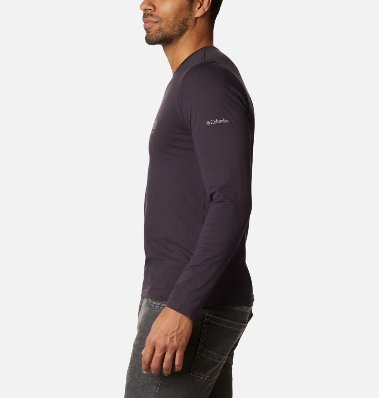 Lookout Point™ LS Graphic Tee | 511 | XXL Men's Lookout Point™ Long Sleeve Graphic T-Shirt, Dark Purple Omni Dots, a1