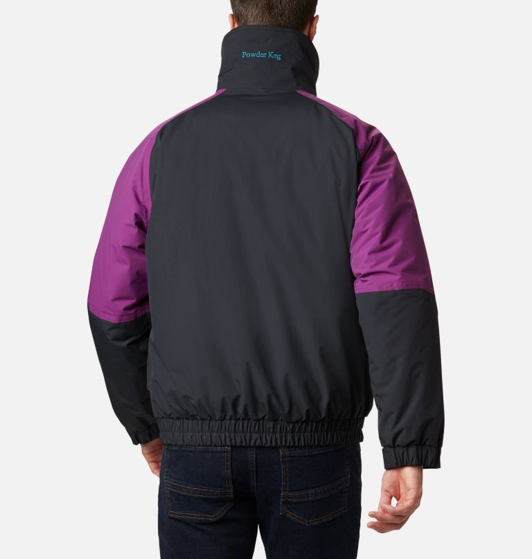 Powder Keg™ Interchange Parka | 010 | XL Men's Powder Keg™ Interchange Parka, Black, Plum, back