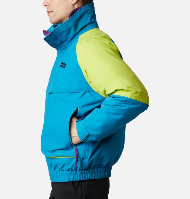 Powder Keg™ Interchange Parka | 462 | XL Men's Powder Keg™ Interchange Parka, Fjord Blue, Bright Chartreuse, a1
