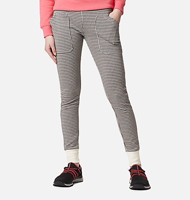 Women's Sunday Summit™ Jacquard Leggings Sunday Summit™ Jacquard Legging | 021 | L, Chalk Jacqaurd Houndstooth, front