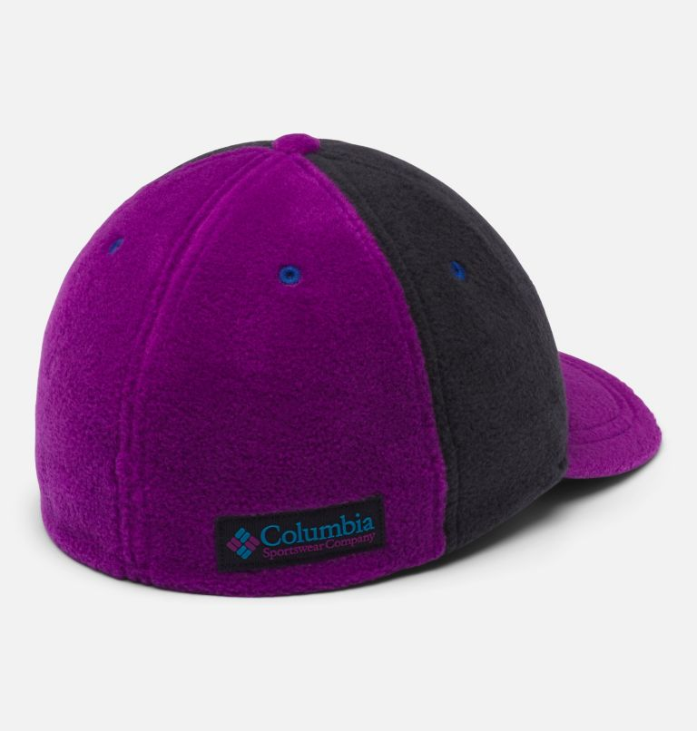 Columbia™ Fleece Cap | 010 | L/XL Gorra con polar Columbia unisex, Black, Plum, back