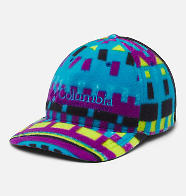 Columbia™ Fleece Cap Columbia™ Fleece Cap | 010 | L/XL, Fjord Blue Print, Black, front