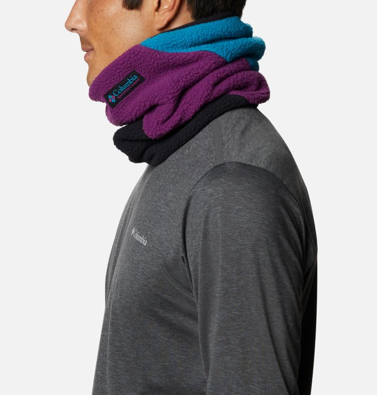 Columbia™ Fleece Gaiter | 010 | O/S Columbia™ Omni-Heat™ Fleece Gaiter, Black, Fjord Blue, Plum, a1