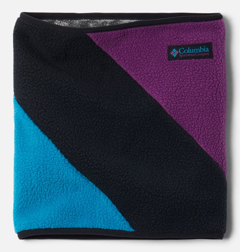 Columbia™ Fleece Gaiter | 010 | O/S Columbia™ Omni-Heat™ Fleece Gaiter, Black, Fjord Blue, Plum, a3