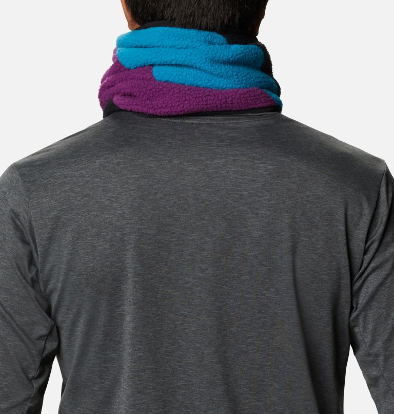 Columbia™ Fleece Gaiter | 010 | O/S Columbia™ Omni-Heat™ Fleece Gaiter, Black, Fjord Blue, Plum, back
