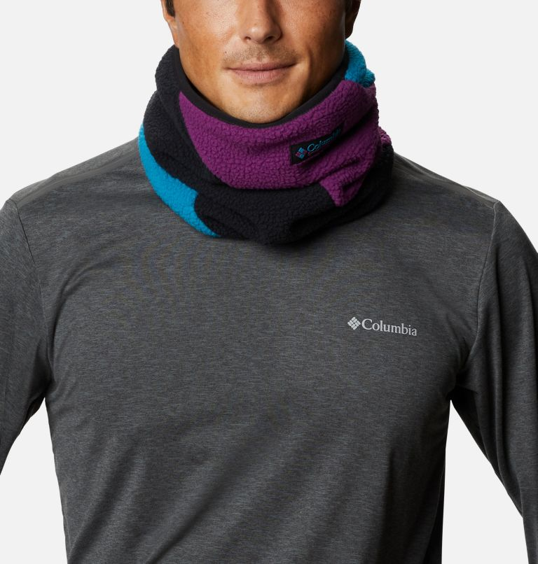 Columbia™ Fleece Gaiter | 010 | O/S Columbia™ Omni-Heat™ Fleece Gaiter, Black, Fjord Blue, Plum, front