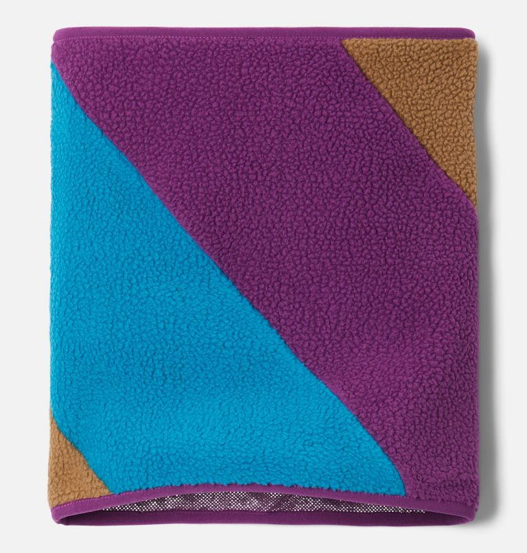 Columbia™ Fleece Gaiter | 257 | O/S Unisex Columbia Fleece Gaiter, Delta, Plum, Fjord Blue, a1
