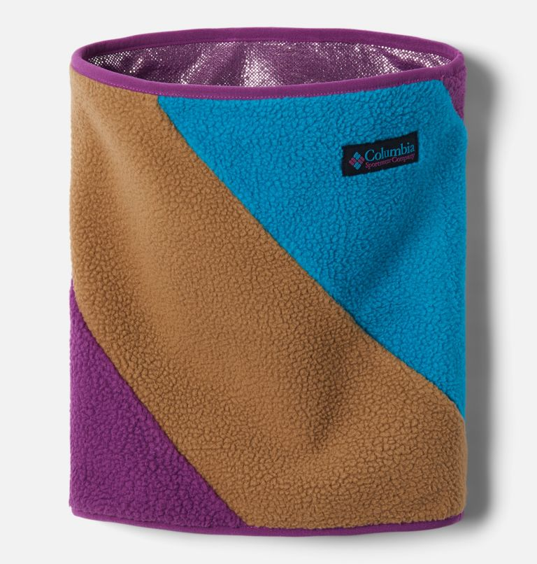 Columbia™ Fleece Gaiter | 257 | O/S Unisex Columbia Fleece Gaiter, Delta, Plum, Fjord Blue, front