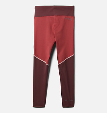 Girls' Roffe Ridge™ Legging Roffe Ridge™ Legging | 010 | XL, Malbec, Marsala Red, back