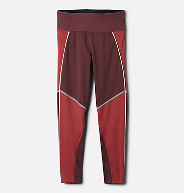 Girls' Roffe Ridge™ Legging Roffe Ridge™ Legging | 010 | XL, Malbec, Marsala Red, front