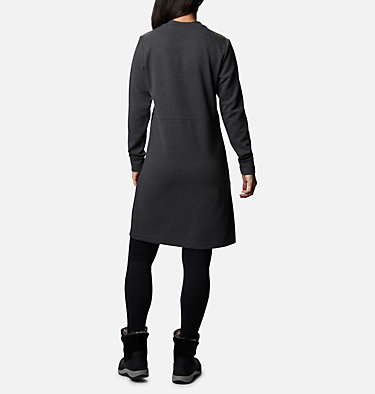 Women's Firwood™ Ottoman Dress Firwood™ Ottoman Dress | 011 | L, Shark Heather, back