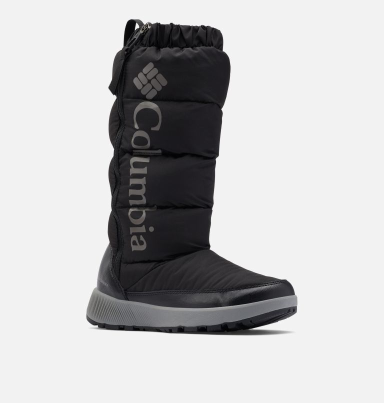 PANINARO™ OMNI-HEAT™ TALL | 010 | 9.5 Women's Paninaro™ Omni-Heat™ Tall Boot, Black, Stratus, 3/4 front
