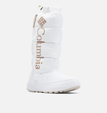 Botte haute Paninaro Omni-Heat femme PANINARO™ OMNI-HEAT™ TALL | 439 | 10, White, Warm Gold, 3/4 front