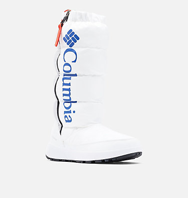 Women's Paninaro™ Omni-Heat™ Tall Boot PANINARO™ OMNI-HEAT™ TALL | 101 | 10, White, Cobalt Blue, 3/4 front