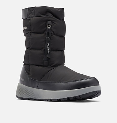 Women's Paninaro™ Omni-Heat™ Pull-On Boot PANINARO™ OMNI-HEAT™ PULL ON | 010 | 10, Black, Stratus, 3/4 front