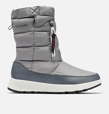 Women's Paninaro™ Omni-Heat™ Pull-On Boot PANINARO™ OMNI-HEAT™ PULL ON | 010 | 10, Ti Grey Steel, Dark Fuchsia, front