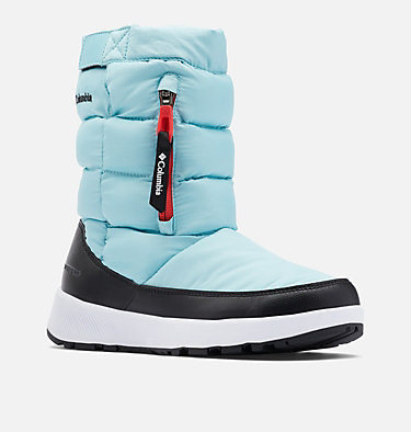 Women's Paninaro™ Omni-Heat™ Pull-On Boot PANINARO™ OMNI-HEAT™ PULL ON | 010 | 10, Aquatint, Poppy Red, 3/4 front