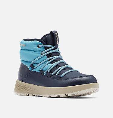 Botte mi-haute Slopeside Village Omni-Heat femme SLOPESIDE VILLAGE™ OMNI-HEAT™ MID | 010 | 10.5, Shasta, Silver Sage, 3/4 front