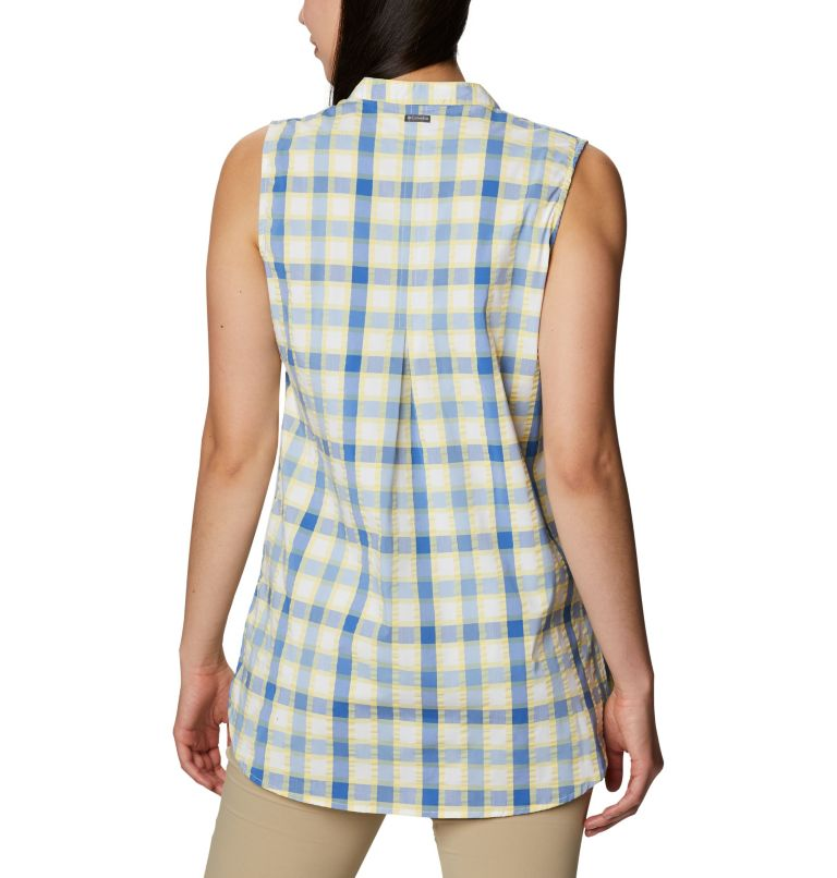 Cherry Creek Lane™ EXS Sleeveless Tunic | 707 | M Women's Cherry Creek Lane™ Sleeveless Tunic, Sunlit, back