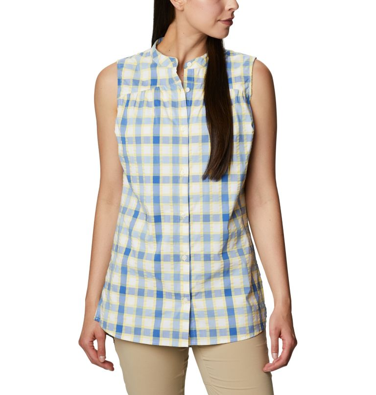 Cherry Creek Lane™ EXS Sleeveless Tunic | 707 | M Women's Cherry Creek Lane™ Sleeveless Tunic, Sunlit, front