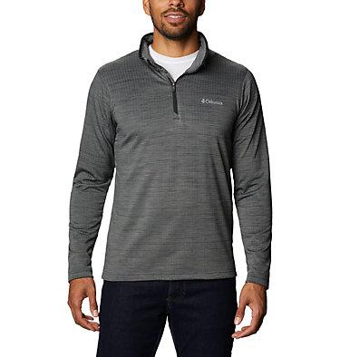 Men's Hawkins Ave™ Half Zip Shirt Hawkins Ave™ EXS Half Zip   901   M, Black, front