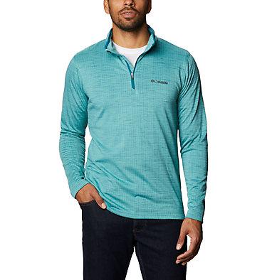 Men's Hawkins Ave™ Half Zip Shirt Hawkins Ave™ EXS Half Zip   901   M, Aegean Blue, front