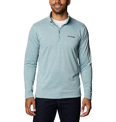 Men's Hawkins Ave™ Half Zip Shirt Hawkins Ave™ EXS Half Zip   901   M, Storm, front