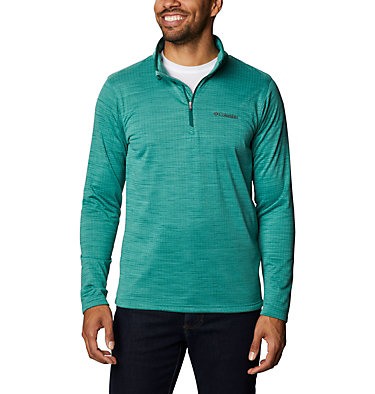 Men's Hawkins Ave™ Half Zip Shirt Hawkins Ave™ EXS Half Zip   901   M, Wildwood Green, front